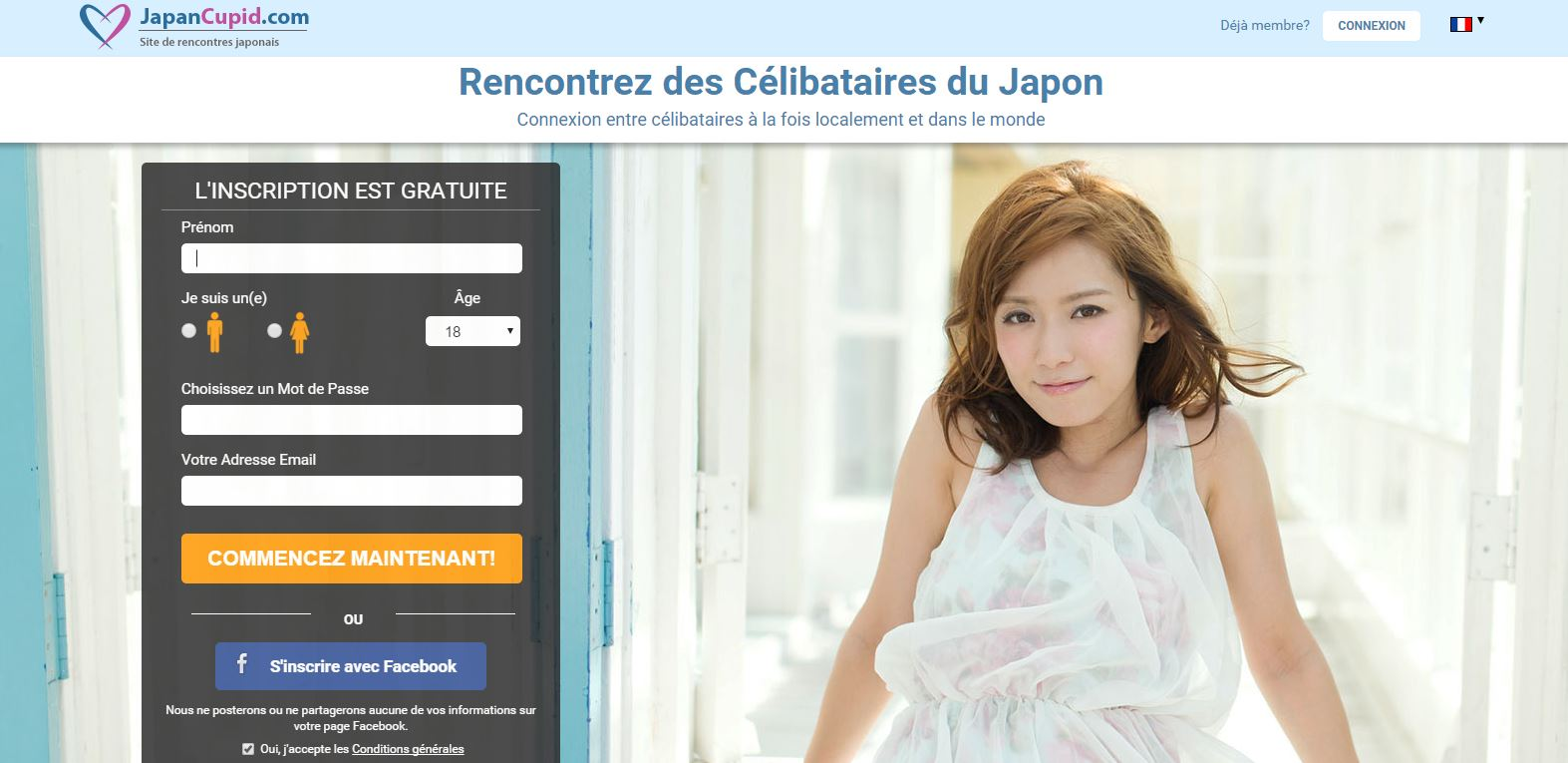 Site de rencontre japonaise en france