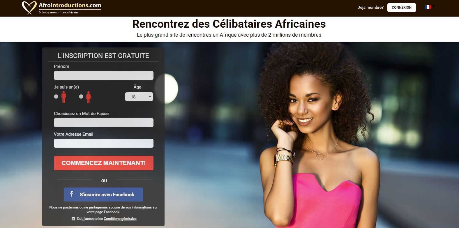 Sites de rencontre gratuit africains