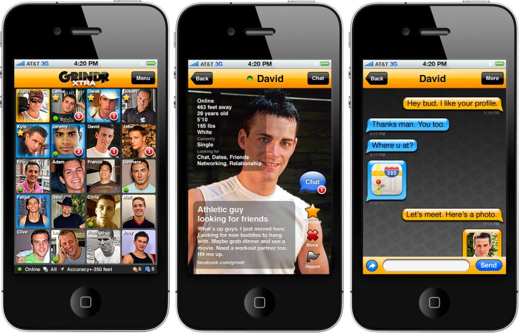 Site de rencontre gay grindr