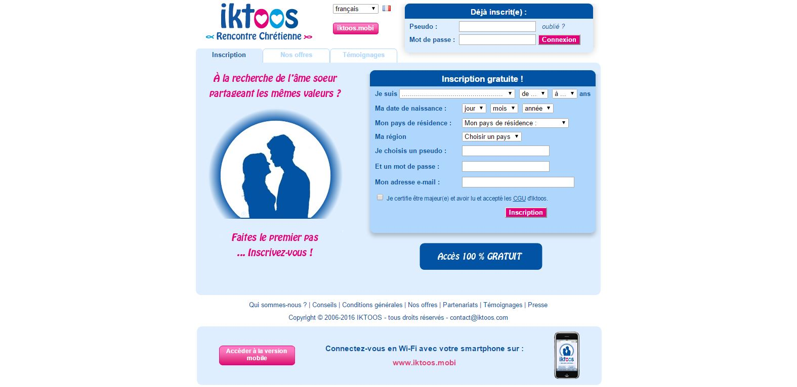 Sites de rencontres catholiques