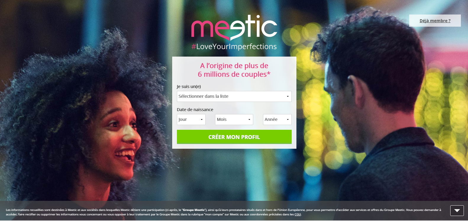 Avis site rencontre meetic affinity